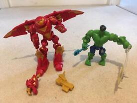 Super hero mashers. Iron man and hulk