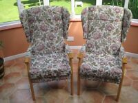 2 HSL Oakdale Armchairs in Immaculate Condition