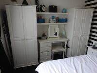WARDROBES X 2 DRESSING TABLE