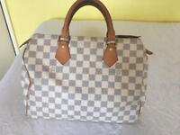 Louis Vuitton Speedy Azur 30 Handbag