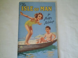 THE ISLE OF MAN FOR HAPPY HOLIDAYS,EARLY 1950'S