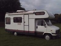 Peugeot Motorhome Campervan Left Hand Drive Diesel 6 Birth