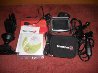 Tom Tom Rider Europe 22 motorcycle sat nav.