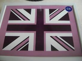 Purple beanbag style lap tray