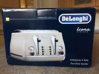4 slice toaster brand new
