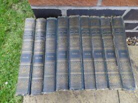 Cassells History of England, 9 Volumes