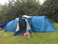 Vango TBS vista 800DLX 8 birth tent