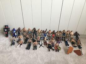 Pick 5 Genuine WWE wrestling figures