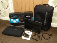 "GAEMS M155 15.5"" HD LED Performance Gaming Monitor + Backpack"