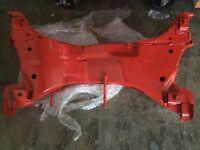 Evo 8 powder coated front sub frame