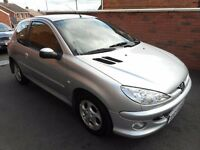 2005 peugeot 206 sport hdi{timing belt done,finance,warranty ava,6 months warranty}