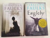 Sebastian Faulks Paperbacks. The Girl at the Lion D'Or and Engelby