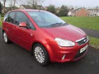 2010+2008 ford c max titanium full mot fshfrom ford £1000,s of receipts driving perfect no faults