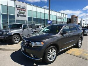 2016 Dodge Durango Limited AWD NAV BACK UP CAMERA SUNROOF