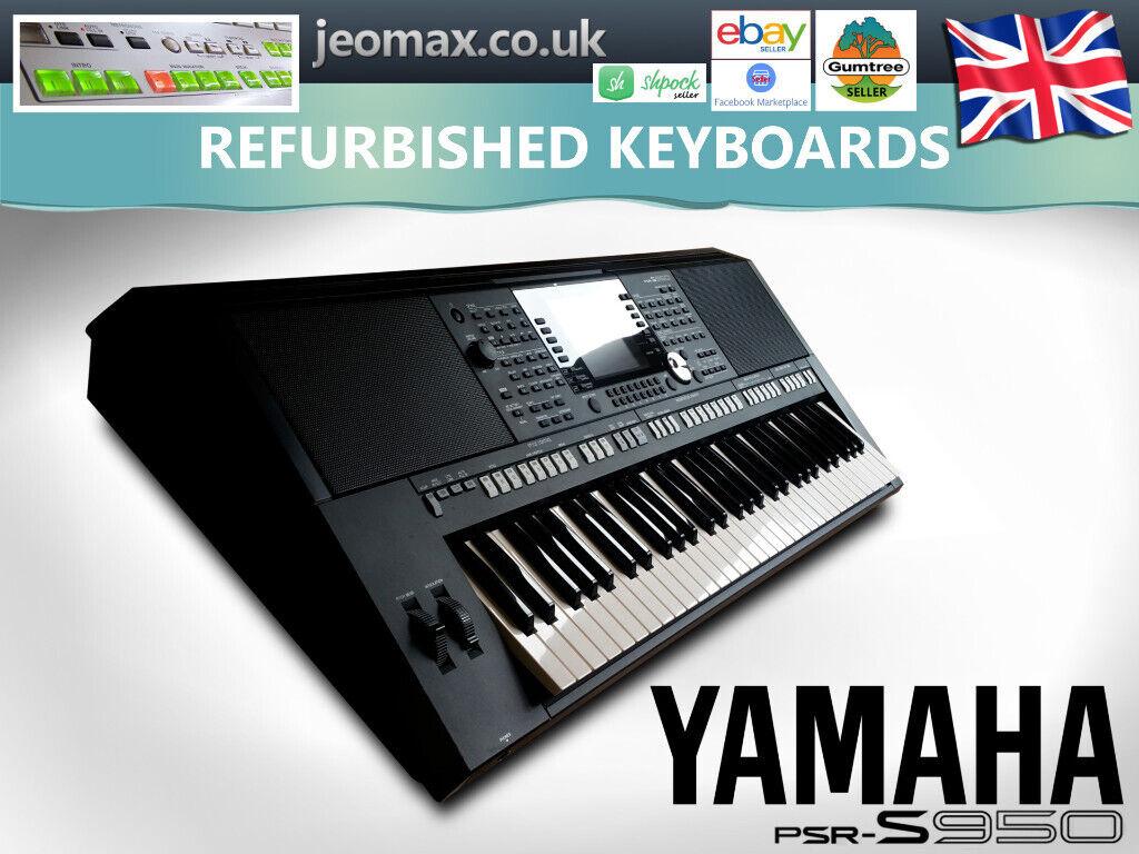 Yamaha PSR-S950 keyboard :: music rest :: very good condition :: WARRANTY |  in Watford, Hertfordshire | Gumtree