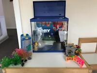 18 litre fish tank
