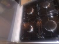 Dual cooker. 60cm. Gas and electric