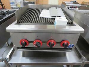 "Brand New 24"" Gas Charbroiler"