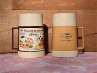 Retro Vintage Thermos food flasks