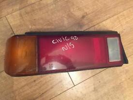 Honda Civic 1990 N/S/R light
