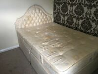 Used Double Bed and Mattress Free