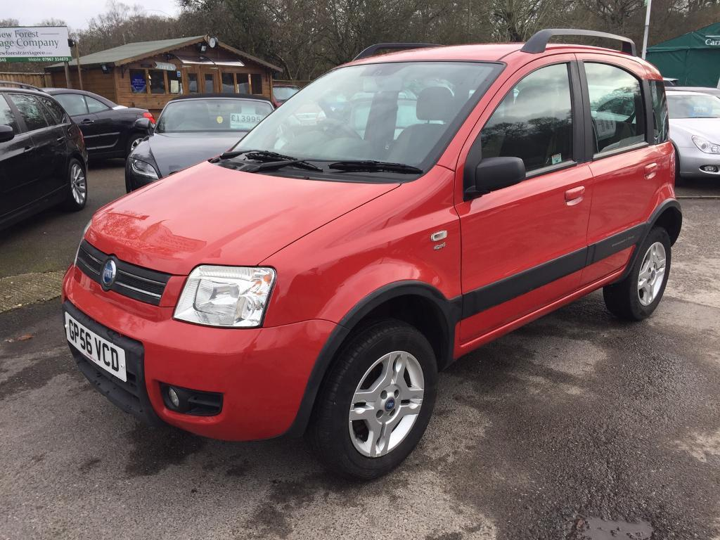 fiat panda 4x4 2007 1 2 in southampton hampshire gumtree. Black Bedroom Furniture Sets. Home Design Ideas