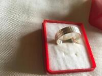 Men's wedding ring real silver 925 real £25