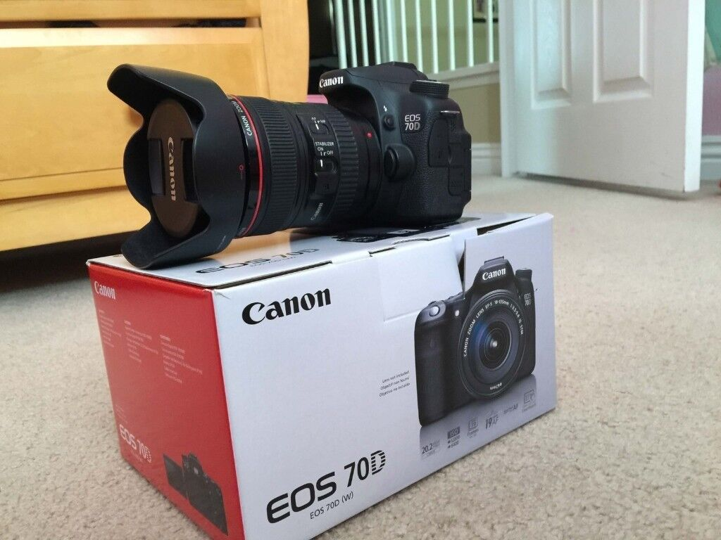 Canon Eos 70d Body Only Mint Condition Free Postage Within Uk