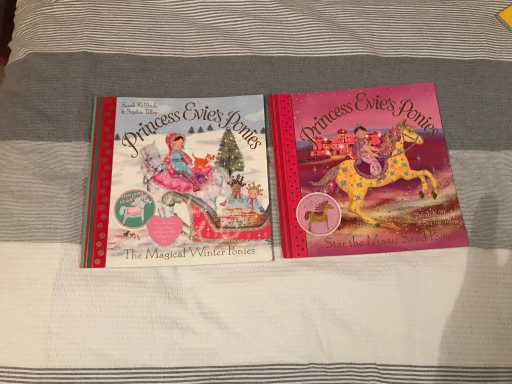 Princess Evie Ponies books