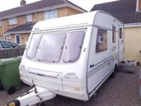 Swift rapide 490 GLX 4/5 berth caravan 1994/5
