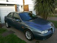 Alfa Romeo 156 1.8 T spark 03 plate runs and drives faultless MOT ran out last month
