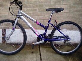 ladies/girls bike, like new,3ft high frame,very good condition 50 o.n.o
