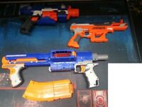 Mixed Nerf Blasters - Used