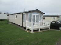 3 Bed Caravan with patio doors and balcony close to complex for rent / hire at Craig Tara (58)