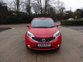 Nissan Note Tekna Dig-S (red) 2015