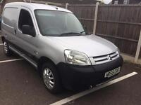 Citroen Berlingo 600 hdi diesel van 2006 side door silver long mot