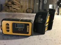 Dewalt laser with detector