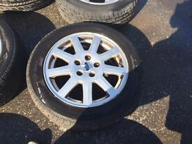 """SET OF FORD WHEELS & TYRES 16"""""""