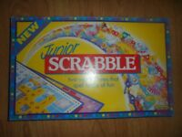 JUNIOR SCRABBLE - BRILLIANT CONDITION