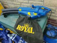 Royal garden leaf blower and vacuum