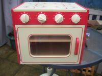 Children Play Oven/Hob.