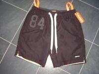 Superdry Shorts Size Medium Black