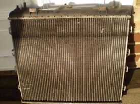 PT Cruiser Radiator, for diesli model,and Fuel filler flap