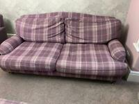 Laura Ashley Sofa Chair and Foot Rest