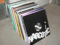 """120 x 12"""" House Music Vinyl Records Collection. 1990 - 2000's"""