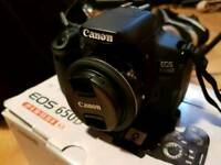 Canon 650d, like new boxed and loads of other recording equipment.