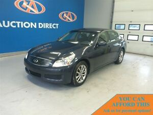 2008 Infiniti G35 Luxury, AWD! SUNROOF! FINANCE NOW!