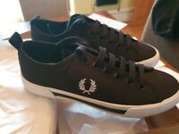 Mens black fred perry