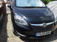 Vaxhaul Miriva 2014 plate Black Automatic