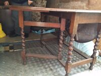 Antique study desk £29 Free Local Delivey